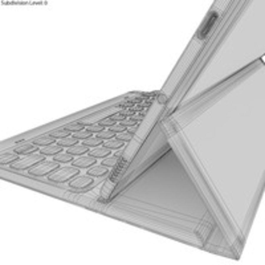 Samsung Galaxy Tab S3 S Pen & Keyboard ile Tüm Renkler (Arma) royalty-free 3d model - Preview no. 56