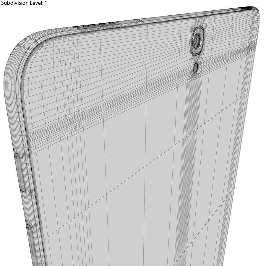 Samsung Galaxy Tab S3 S Pen & Keyboard ile Tüm Renkler (Arma) royalty-free 3d model - Preview no. 49
