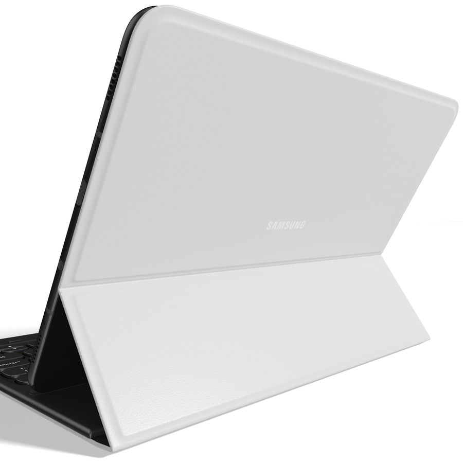 Samsung Galaxy Tab S3 S Pen & Keyboard ile Tüm Renkler (Arma) royalty-free 3d model - Preview no. 7