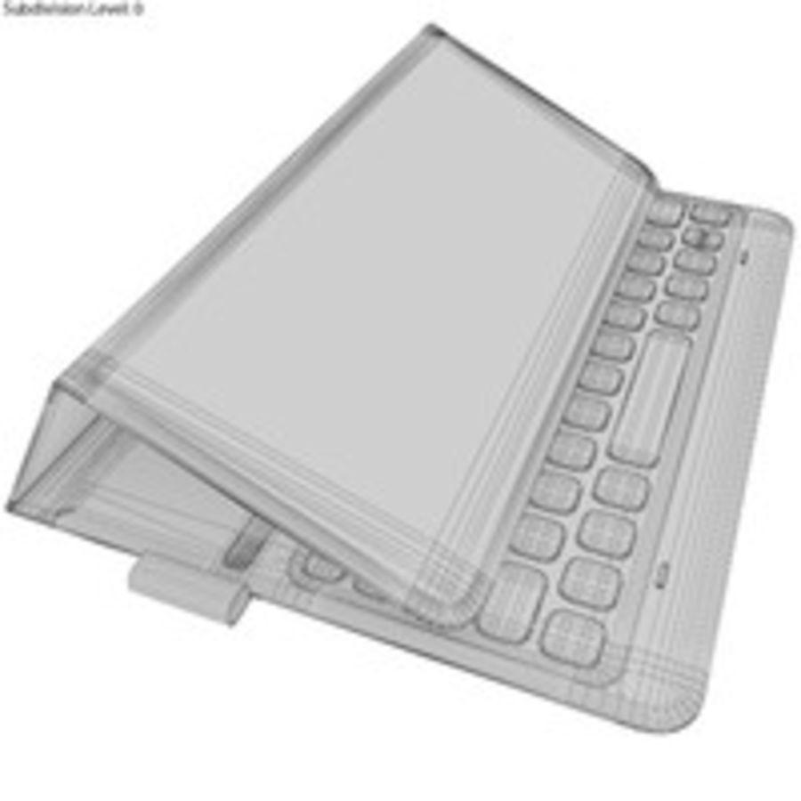 Samsung Galaxy Tab S3 S Pen & Keyboard ile Tüm Renkler (Arma) royalty-free 3d model - Preview no. 60