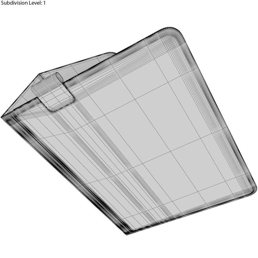Samsung Galaxy Tab S3 S Pen & Keyboard ile Tüm Renkler (Arma) royalty-free 3d model - Preview no. 63