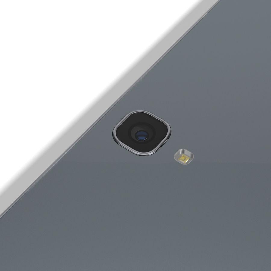 Samsung Galaxy Tab S3 S Pen & Keyboard ile Tüm Renkler (Arma) royalty-free 3d model - Preview no. 40