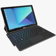 Samsung Galaxy Book 10.6 с клавиатурой и S-Pen (в комплекте) 3d model