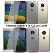 Motorola Moto G5 & G5 Plus Collection 3d model