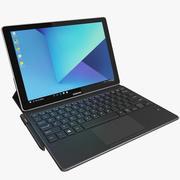 Samsung Galaxy Book 12 с клавиатурой и S-Pen (в комплекте) 3d model
