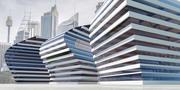 Edifício moderno 11 3d model