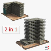 Building Construction 3D Models Collection 3d model