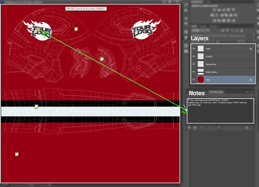 Fotboll hjälm Riddell Speedflex royalty-free 3d model - Preview no. 22