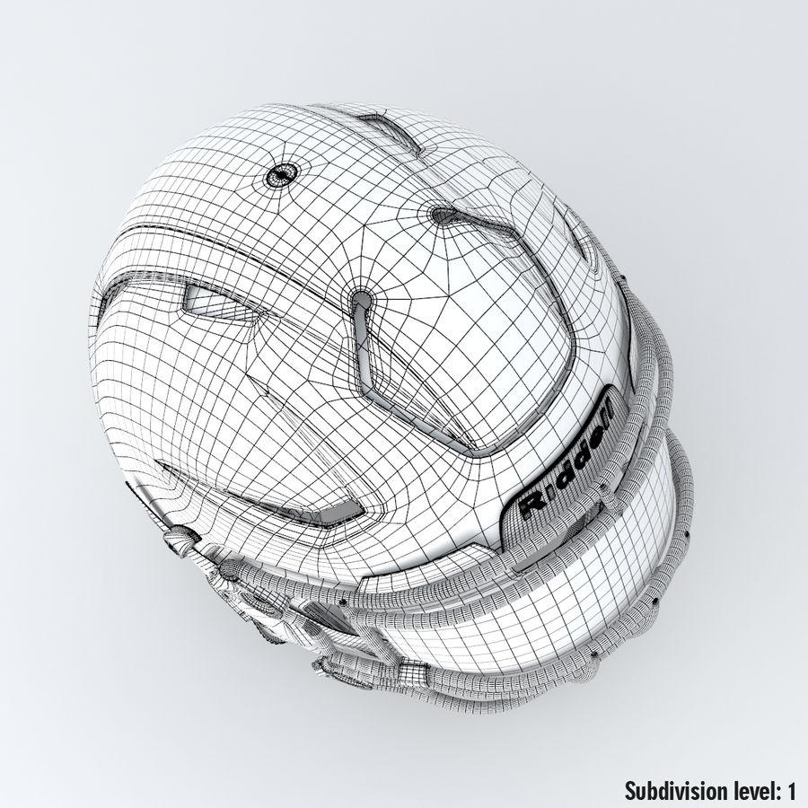 Fotboll hjälm Riddell Speedflex royalty-free 3d model - Preview no. 17