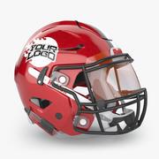 橄榄球头盔Riddell Speedflex 3d model