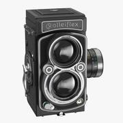 Rolleiflex 2.8 fx Kamera Kapalı 3d model