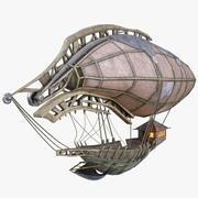 Fantasie luchtschip 3d model