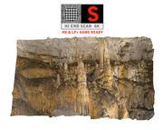 Cave Wall Scan 8K 3d model