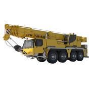 Liebherr Mobile Crane 3d model
