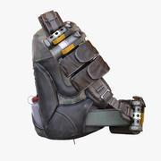 救生袋 3d model
