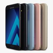 Samsung Galaxy A5 2017 All Color 3d model