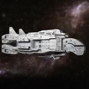 Spaceship-01 3d model