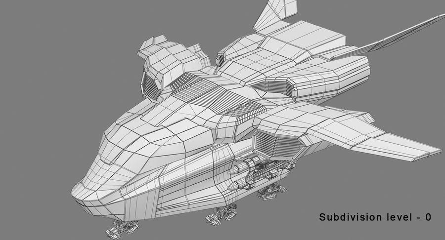 Statek kosmiczny royalty-free 3d model - Preview no. 13
