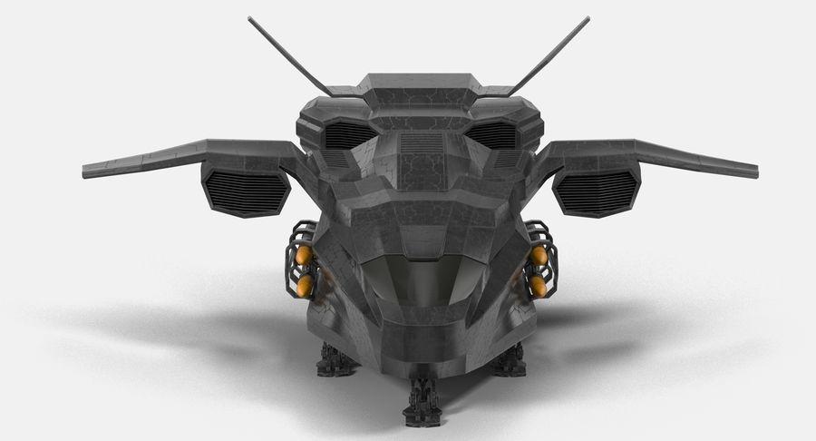 Statek kosmiczny royalty-free 3d model - Preview no. 5