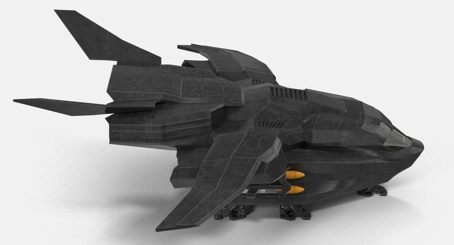 Statek kosmiczny royalty-free 3d model - Preview no. 6