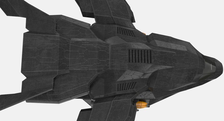 Statek kosmiczny royalty-free 3d model - Preview no. 10
