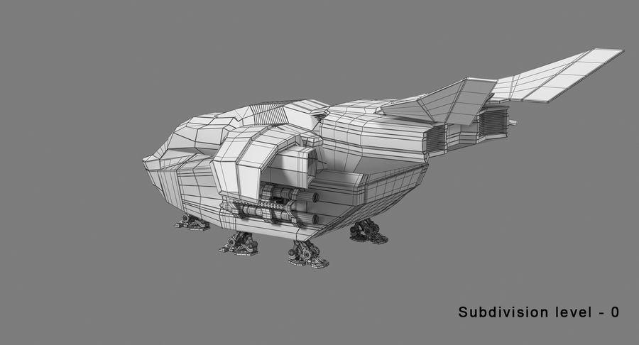Statek kosmiczny royalty-free 3d model - Preview no. 15