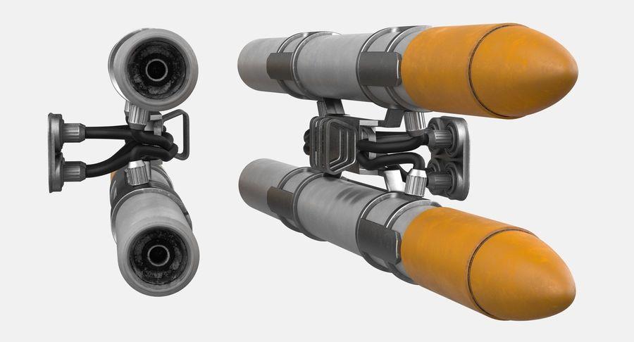 Statek kosmiczny royalty-free 3d model - Preview no. 11