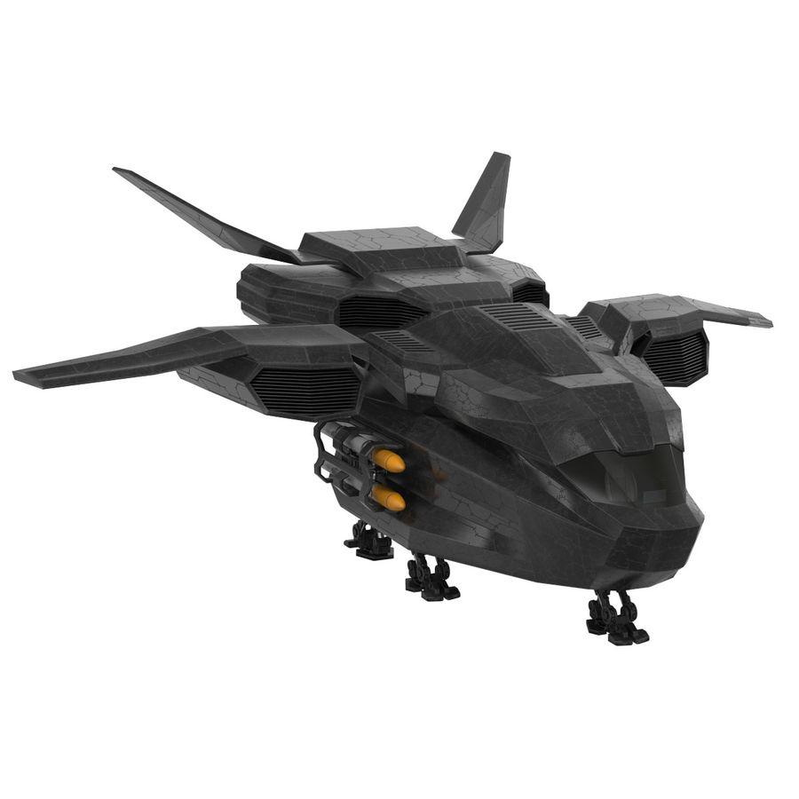 Statek kosmiczny royalty-free 3d model - Preview no. 1
