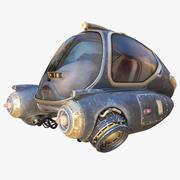科幻飞船 3d model
