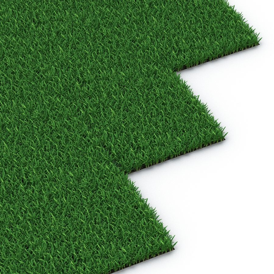 Grass Fields Collection royalty-free 3d model - Preview no. 22