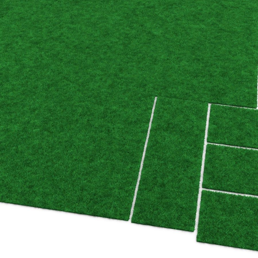Grass Fields Collection royalty-free 3d model - Preview no. 20