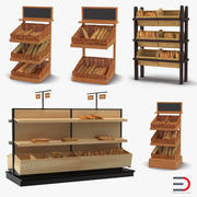 Bakery Display Collection 3d model