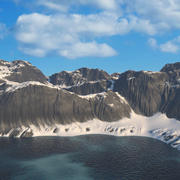 Arctic Mountain 3d model
