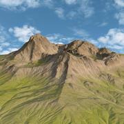 Green Mountains Sıradağları 3d model