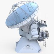 ALMA Antena 3d model