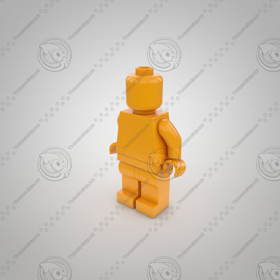 Postać Lego royalty-free 3d model - Preview no. 1