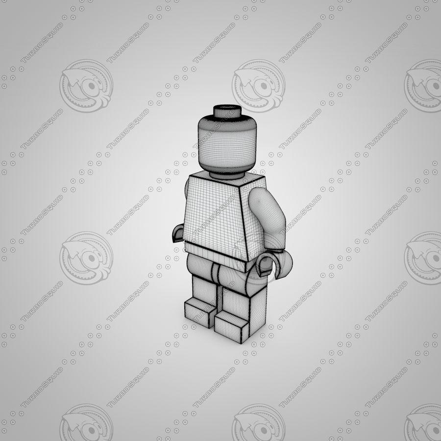 レゴキャラクター royalty-free 3d model - Preview no. 3