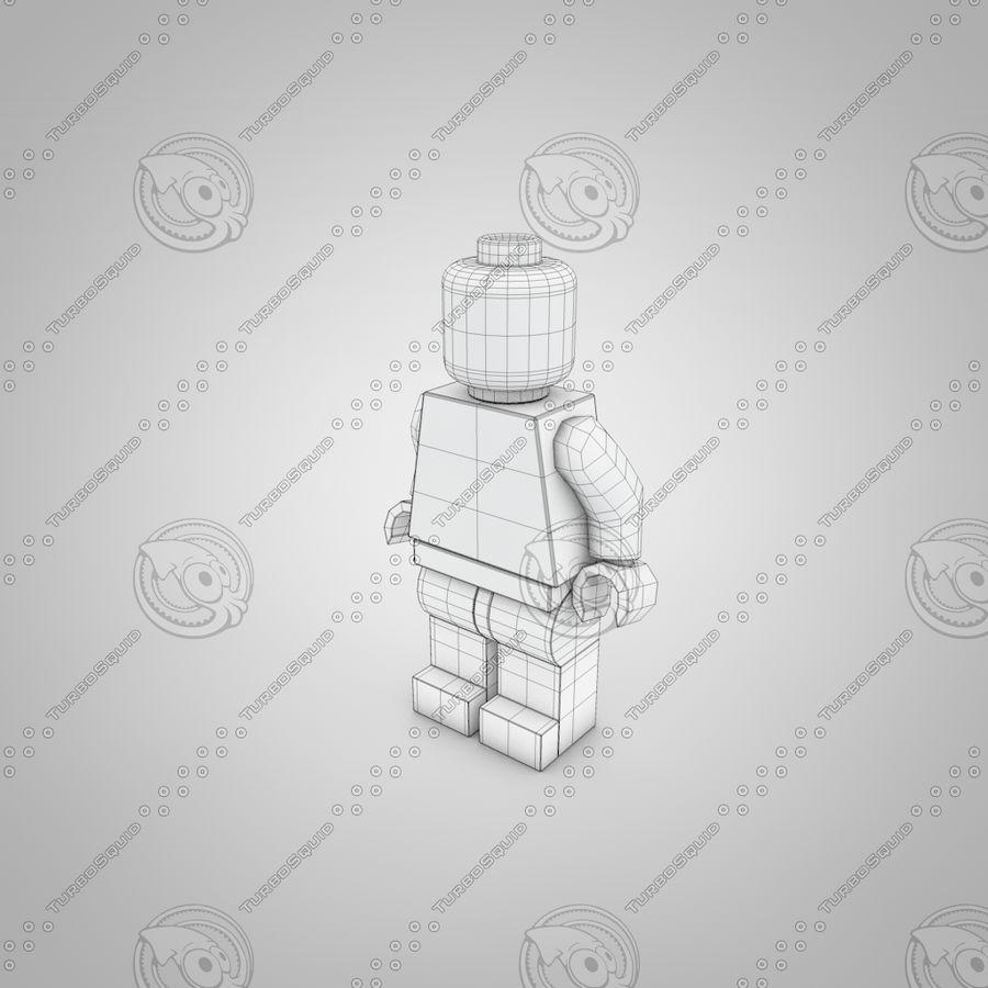 レゴキャラクター royalty-free 3d model - Preview no. 2
