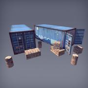 RPG / FPS Game Assets для ПК / мобильных устройств (Set v1.0) 3d model