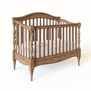 经典婴儿床 3d model