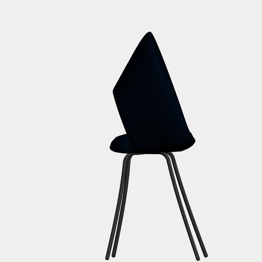 sedia nuova royalty-free 3d model - Preview no. 2