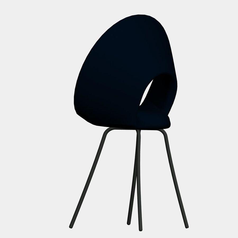sedia nuova royalty-free 3d model - Preview no. 4