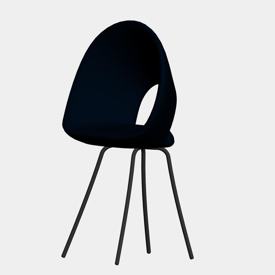 sedia nuova royalty-free 3d model - Preview no. 1