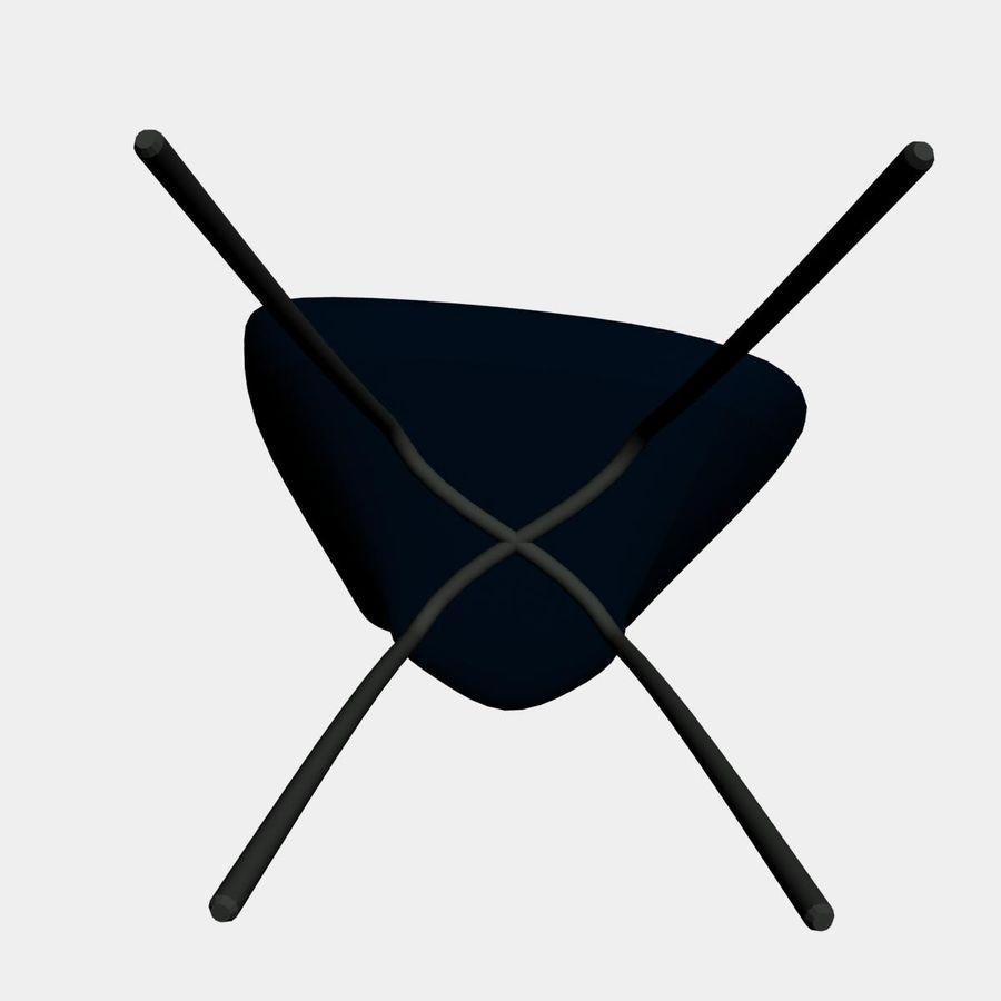 sedia nuova royalty-free 3d model - Preview no. 6