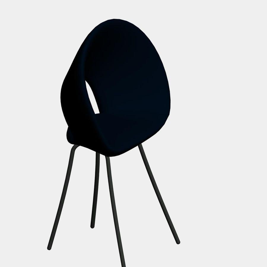 sedia nuova royalty-free 3d model - Preview no. 3