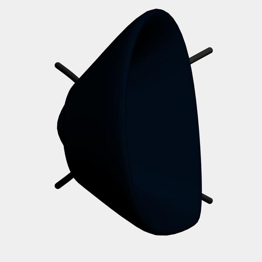 sedia nuova royalty-free 3d model - Preview no. 5