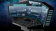 Sci fi Corner Computer Terminal 3d model