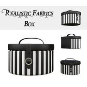 Round Decor Box - Jewellery Box 3d model