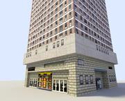 低聚建筑 3d model