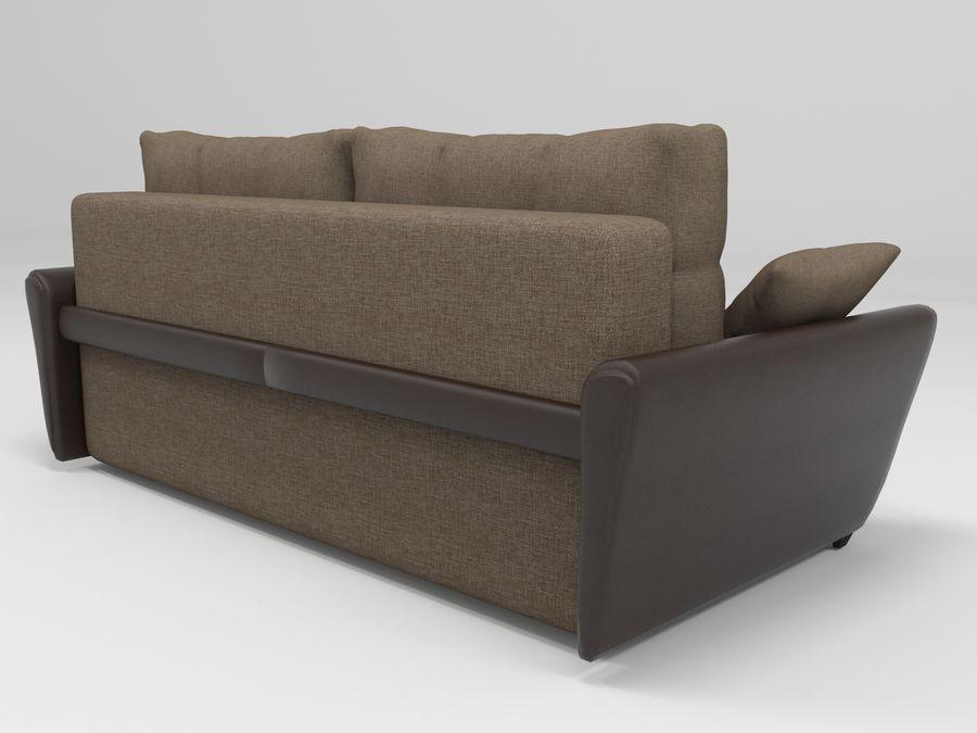 Divano Amsterdam 051 royalty-free 3d model - Preview no. 3